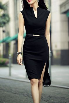 6 Best Sexy Work Outfit Ideas For Modern Women Sexy Work Outfit, Casual Work Outfits, Professional Outfits, Work Attire, Classy Outfits, Business Professional, Young Professional, Office Dresses For Women, Trendy Dresses