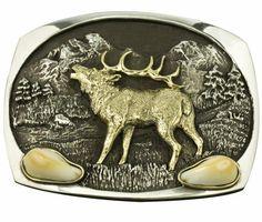 Belt Buckle: Elk Ivory Elk Ivory, Antler Jewelry, Bolo Tie, Antlers, Belt Buckles, Blade, Hunting, Art Pieces, Husband