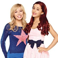 Jennette McCurdy and Ariana Grande on New Nick Comedy 'Sam & Cat' Jennette Mccurdy, Sam E Cat, Ariana Grande Cat, Netflix, Cat Valentine Victorious, Nickelodeon Shows, Disney Shows, Big Sean, Celebrity Dads
