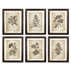 Constructed from wood and paper Wall Art Sets, Wall Art Decor, Wall Art Prints, Framed Prints, Flora Print, Vintage Industrial Decor, Industrial Style, Botanical Prints, Vintage Floral