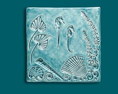 Hey, I found this really awesome Etsy listing at https://www.etsy.com/listing/106005108/seahorse-tile-6-inch