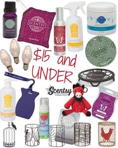 Look at what all you can get for under $15. Scentsy has gifts for all budgets. mistylassley.scentsy.us