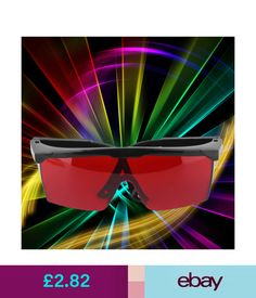 Other Crafts Protective Man Woman Goggles Laser Safety Glasses Eye Spectacles Eyewear Bk #ebay #Home & Garden