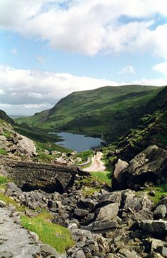 Ireland, Kerry, Killarney National Park, Gap of Dunloe - We are going to take a horse cart ride thru here if the weather is ok for it. Oh The Places You'll Go, Places To Travel, Places To Visit, Parc National, National Parks, Ireland Travel, Ireland Vacation, British Isles, Dream Vacations