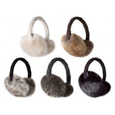 De Fur Earmuffs van #Barts zijn uitgevoerd met imitatiebont en het frame van deze #oorwarmers is verstelbaar. #dws