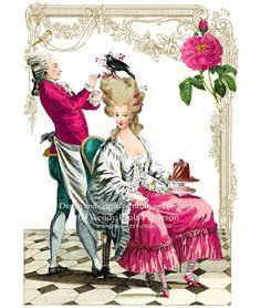 I ♥ Marie Antoinette. She is my kinda lady.