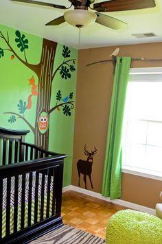 Love this wilderness theme!!! baby-seaton