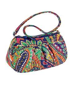 VERA BRADLEY Frannie VENETIAN PAISLEY Bag Purse Shoulder Crossbody SO PRETTY $29 #VeraBradley #EveningBag