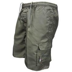 Men Multi Pocket Military Cargo Shorts 2018 Summer Cotton Loose Knee L – heavengif Casual Mode, Men Casual, Military Shorts, Army Pants, Georgia, Pantalon Cargo, Hiking Shorts, Jogger, Mens Sweatpants