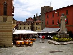 Montecatini Terme Alto  Village Square