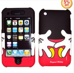 Mickey case for iphone 3GS... Love it!!! Disney Store :D