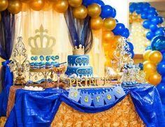 "Prince / Birthday ""Royal birthday"" - Decoration For Home Prince Birthday Theme, King Birthday, Baby Boy Birthday, Boy Birthday Parties, Birthday Party Decorations, Birthday Ideas, Little Prince Party, Royal Party, First Birthdays"