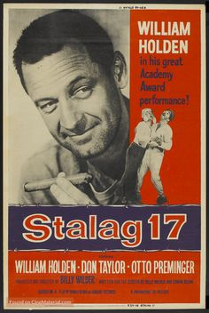 Image result for stalag 17 movie poster