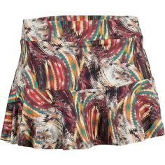 BLUEFISH SPORT Women`s Painter Skirt Print ($72) ❤ liked on Polyvore featuring bluefish sport