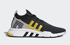 adidas EQT Cushion ADV Mid Black Yellow Stripes CQ2999 Release Date