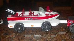 Pinewood Derby car ~ fishing boat
