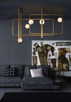 Inspiración para decorar espacio modernos y contemporáneos con iluminación en paredes, techos y lamparas. Arquitectura y diseño de interiores.