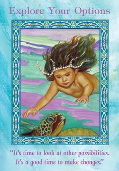Oracle Card Explore Your Options | Doreen Virtue - Official Angel Therapy Website