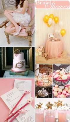 Bridal Shower Idea For the Bride Who Loves Pink | WeddingWire: The Blog