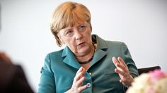German Chancellor Angela Merkel (AFP Photo/Michael Kappeller)