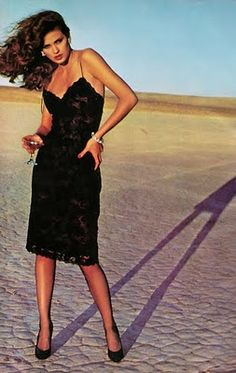 1970's fashion Photograph by Chris Von Wangenheim model Gia