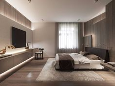 163 warm and cozy master bedroom decorating ideas that you need to copy right no Hotel Bedroom Design, Master Bedroom Interior, Modern Master Bedroom, Home Room Design, Modern Bedroom Design, Apartment Interior Design, Home Bedroom, Bedroom Decor, Bedroom Ideas