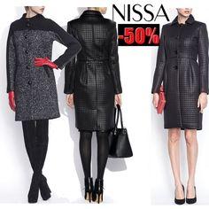Cele mai elegante paltoane dama NISSA online acum cu pana la -50% reducere!