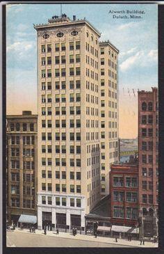 Duluth-MN-Alworth Building-1916 Postcard | eBay