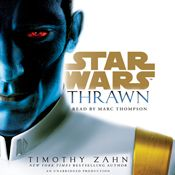 I'm 45% through Thrawn (Star Wars) (Unabridged) by Timothy Zahn, narrated by Marc Thompson on my Audible app.  Try Audible and get it free.