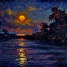 THOMAS VAN STEIN Moonrise in August