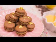 Vídeo-receta: macarons de chocolate y lemon curd