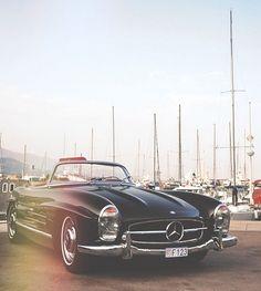 Vintage Benz.