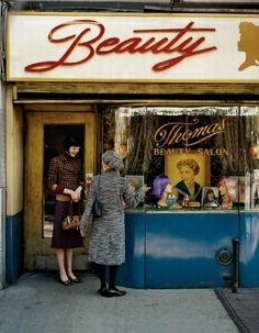 i feel like i would see this storefront in Paris somewhere- maybe I could open a cute, vintage-inspired beauty store like this one day.