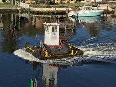 Tug on intercoastal in Delray Beach FL