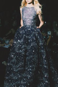 fashionfeude:  Detail at Zuhair Murad Couture Fall Winter 2015 | PFW