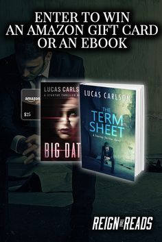 Win eBooks or a $25 Amazon Gift Card from Bestselling Author Lucas Carlson https://reignofreads.com/giveaways/win-ebooks-author-lucas-carlson/?lucky=129542