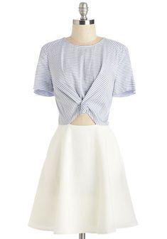 Stripe for the Taking Dress