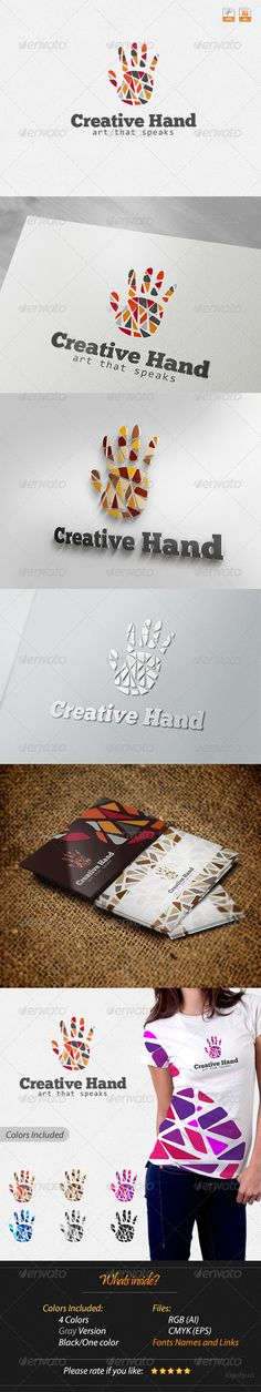 Creative Hand - Art that Speaks Logo More