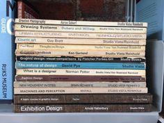 My beloved if somewhat battered Studio Vista design books from the 60s   @PenguinUKBooks  via @ArtGuideAlex