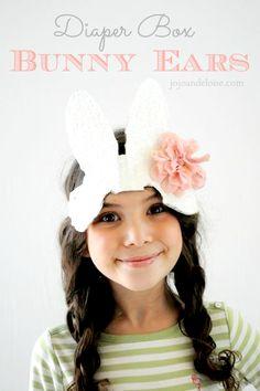 bunny ear DIY - so sweet!