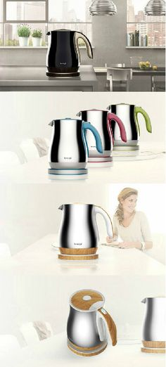 Sometimes product design can be as shallow as making a product look more aesthetic, and I don't see any harm in that. Especially if it makes a significant difference in the appearance. For example this Kettle Design is all about the looks and nothing about a change in functionality as such. However, the design is impactful. #Kettle #Kitchen #Home #Living #Yankodesign