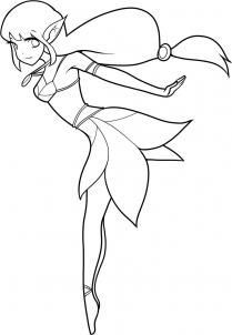 easy how to draw fairies - Google Search