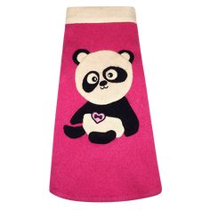 Fifi & Romeo Custom Cashmere Panda Sleeveless Sweater - Pink