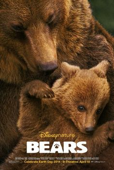 Coming Earth Day 2014  http://wdwnt.com/video-celebrate-earth-day-2014-with-disneynature-bears/ — with Damadenegro Cadiz and Lydie E. Smith.