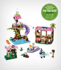 For your little animal lover: the LEGO Friends 'Jungle Rescue Base' play set is a perfect toy for aspiring vets