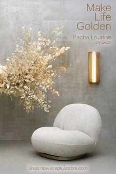 Interior Design Blogs, Mid Century Decor, Mid Century Furniture, Home Furniture, Furniture Design, Plywood Furniture, Modern Furniture, Pierre Paulin, Modern Chairs