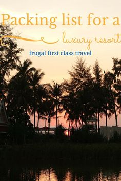 Hi Frugalistas! Luxury Travel with just one carry on bag? Of course! Just because the number of staff will outnumber the number of guests,…