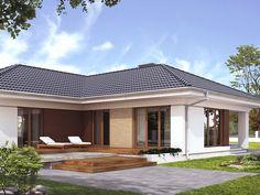 DOM.PL™ - Projekt domu MT Ambrozja 3 paliwo stałe CE - DOM MS1-15 - gotowy projekt domu
