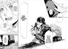 Read manga Noragami Chapter 072 online in high quality