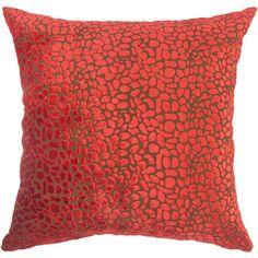 Found it at Wayfair - Alexandria Rose Velvet Throw Pillow
